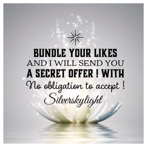 Bundle your likes and I will send you an offer !